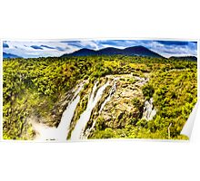 South India - Jog Falls in the monsoon season - 2 Poster