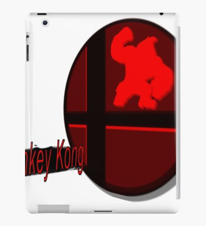 Smash Bros. Donkey Kong Tag iPad Case/Skin