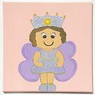Purple Fairy by Nursery Wall Decor