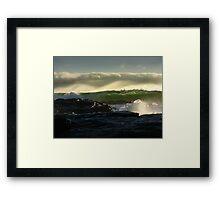 Waves 02 Margaret River Western Australia Framed Print
