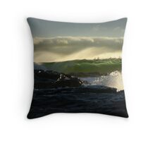 Waves 02 Margaret River Western Australia Throw Pillow