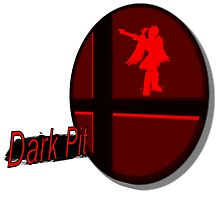 Smash Bros. Dark Pit Tag by goronmask