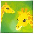 Giraffe by Nursery Wall Decor