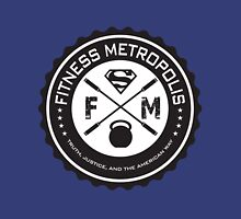 Fitness Metropolis Black Unisex T-Shirt