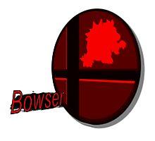 Smash Bros. Bowser Tag Photographic Print