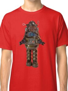 Billiken Shokai Tin Wind Up Robby the Robot Classic T-Shirt