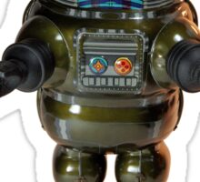 Billiken Shokai Tin Wind Up Robby the Robot Sticker