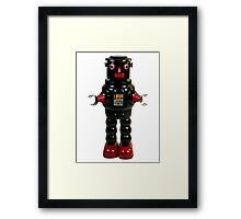 Mechanical Robby Toy Framed Print