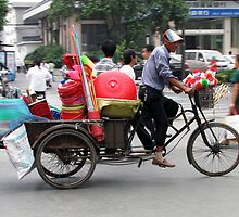 China 2009, Yangzhou, Pedaller or Peddler by DaveLambert
