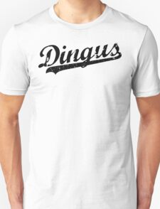 L.A. Dingus - The Blue Crew (Black) Unisex T-Shirt