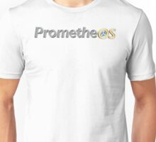 PrometheOS official merchandise of the Linux desktop Operating System - Open Source Software Unisex T-Shirt