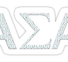 alpha sigma alpha-arrows Sticker