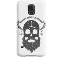 Beards Before Dishonor - Charcoal Samsung Galaxy Case/Skin