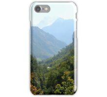 a desolate Nepal landscape iPhone Case/Skin