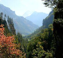a desolate Nepal landscape by beautifulscenes