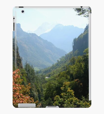 a desolate Nepal landscape iPad Case/Skin