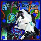 Checkers Scorpio by Samitha Hess Edwards