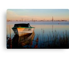 Sun-up on Lake Fyans Canvas Print