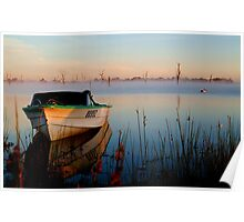 Sun-up on Lake Fyans Poster