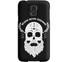 Beards Before Dishonor - White Samsung Galaxy Case/Skin