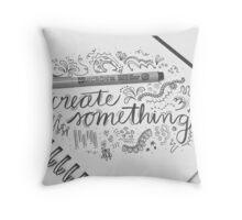 Create Something Throw Pillow