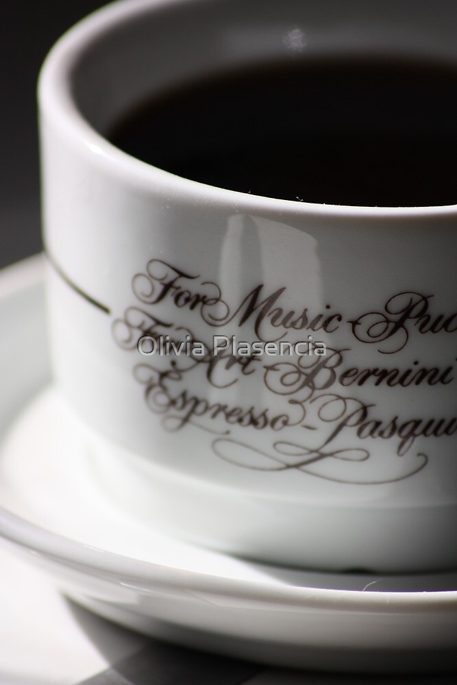 For Music, For Art, For Espresso by Olivia Moore