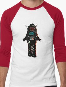 Cartoon robot Men's Baseball ¾ T-Shirt