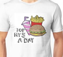 3 of my 5 a day  Unisex T-Shirt