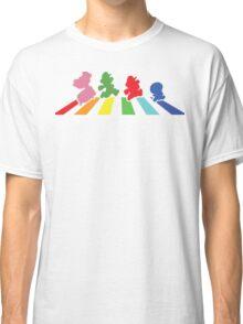 Rainbow Road Classic T-Shirt