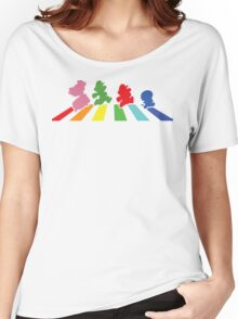 Rainbow Road Women's Relaxed Fit T-Shirt