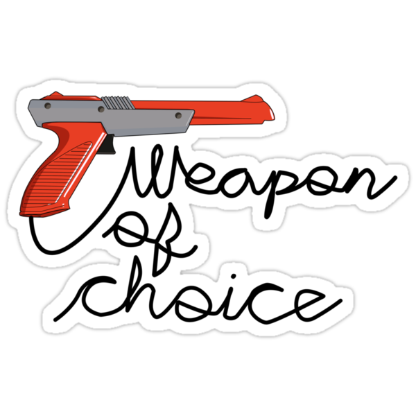 Weapon of Choice by Studio Momo ╰༼ ಠ益ಠ ༽