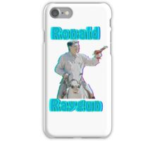 Ronald Raygun iPhone Case/Skin