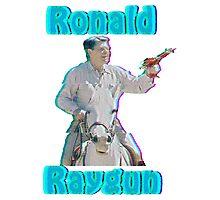 Ronald Raygun Photographic Print