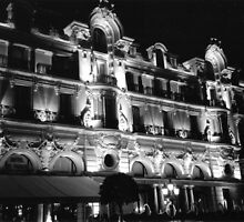 Casino and Hotel in Monte Carlo, Monaco by Igor Pozdnyakov