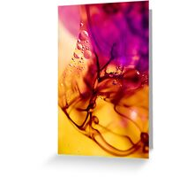 Ink Abstract Greeting Card