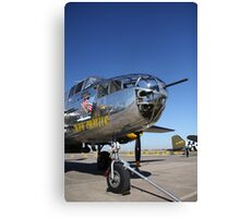 Still Ready for Action Canvas Print
