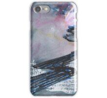 WINTER EVENING ROAD - SKETCH(C2015) iPhone Case/Skin