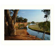 Werribee River Art Print