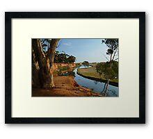Werribee River Framed Print