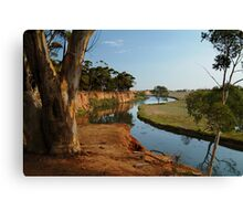 Werribee River Canvas Print