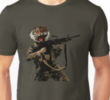 Tiger Soldier Unisex T-Shirt