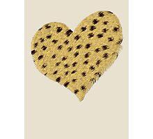 Heart Cheetah Print, Print, Poster, iPhone Case, Samsung Case, iPad Case, Home Decor, Throw Pillows, Totes, Duvet Covers Photographic Print