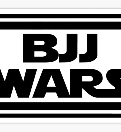Brazilian Jiu Jitsu Wars Sticker
