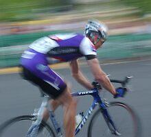 Bike Racing by Bill Lane