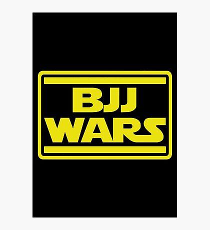 Brazilian Jiu Jitsu Wars Photographic Print