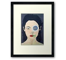 Laby Earth Framed Print