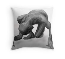 Body Construction one Throw Pillow