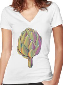 Artichoke Is The New Kale Women's Fitted V-Neck T-Shirt