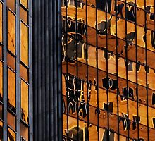 Sydney building reflection 11 by luvdusty