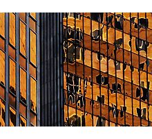 Sydney building reflection 11 Photographic Print